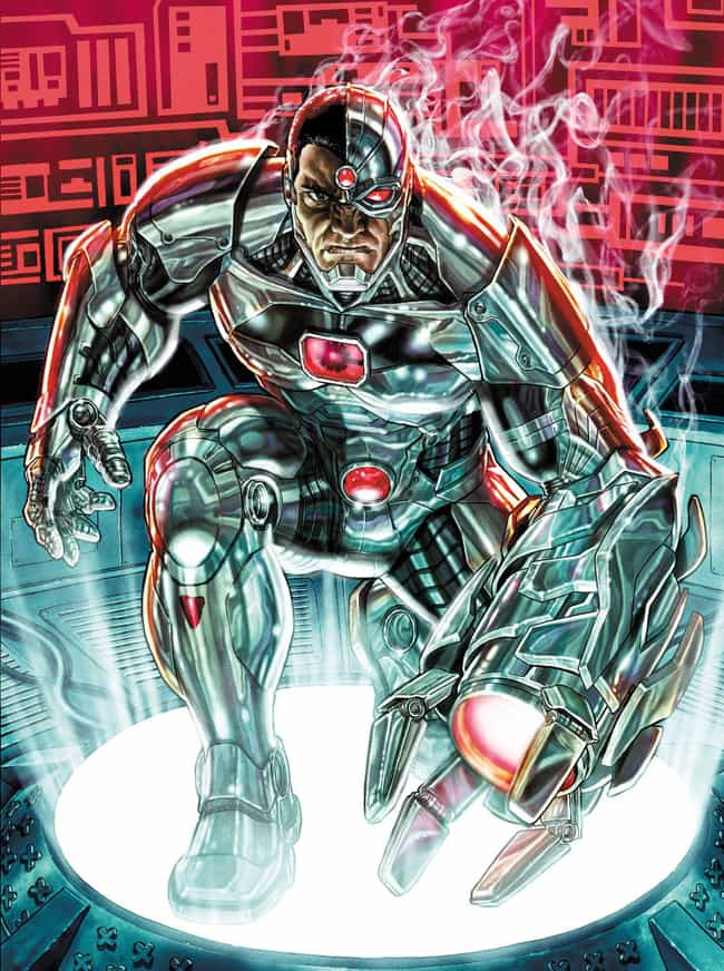 Cyborg is listed (or ranked) 3 on the list Which Hogwarts House Would Each Justice League Member Be Sorted Into?