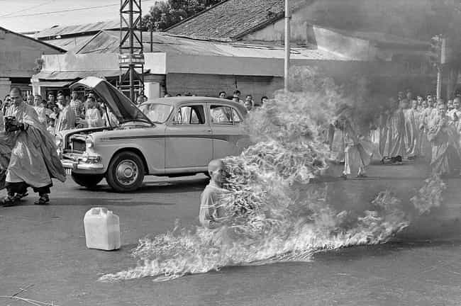 Thich Quang Duc is listed (or ranked) 1 on the list 13 People Who Have Committed Public Suicide