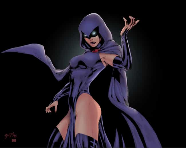 Raven is listed (or ranked) 4 on the list The Best Superhero Capes & Cloaks in Comics