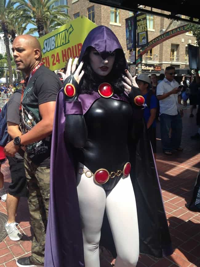 Raven is listed (or ranked) 4 on the list Cosplayers Who Stepped Right Out of the Comics