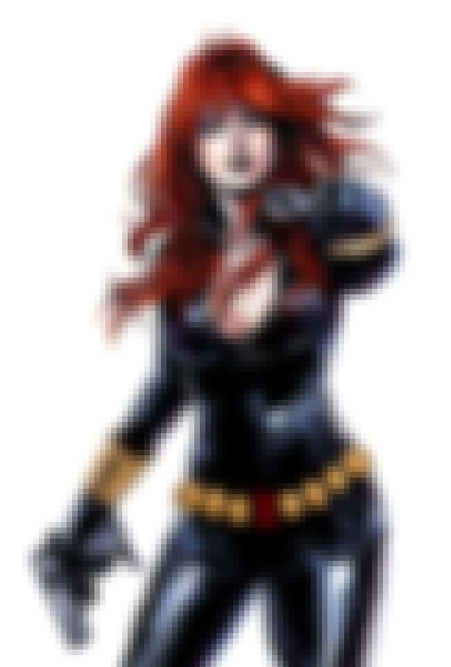 Black Widow is listed (or ranked) 2 on the list The Hottest Female Marvel Characters