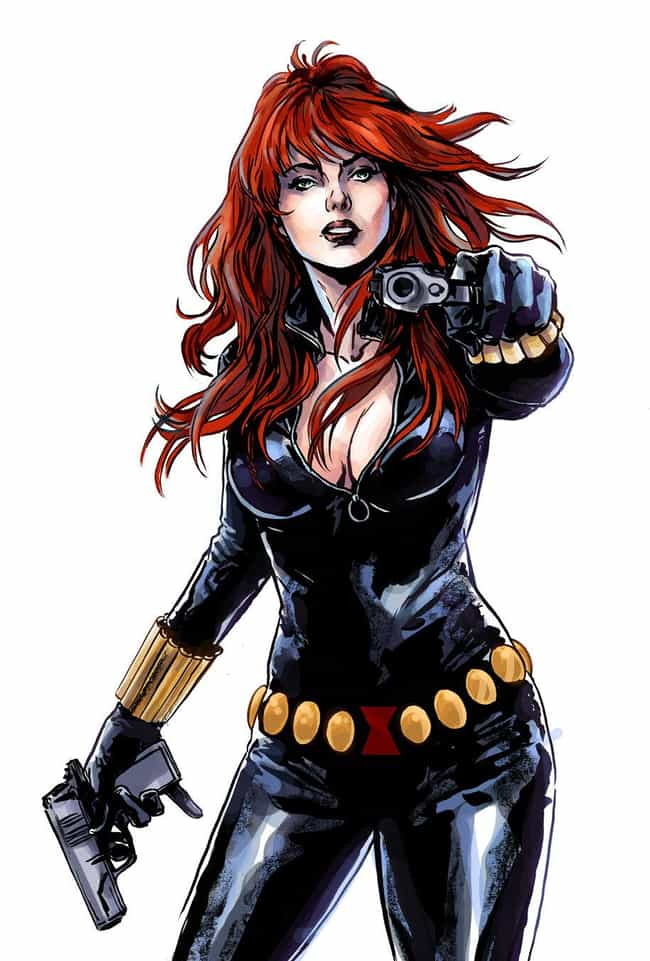 The Hottest Female Marvel Characters