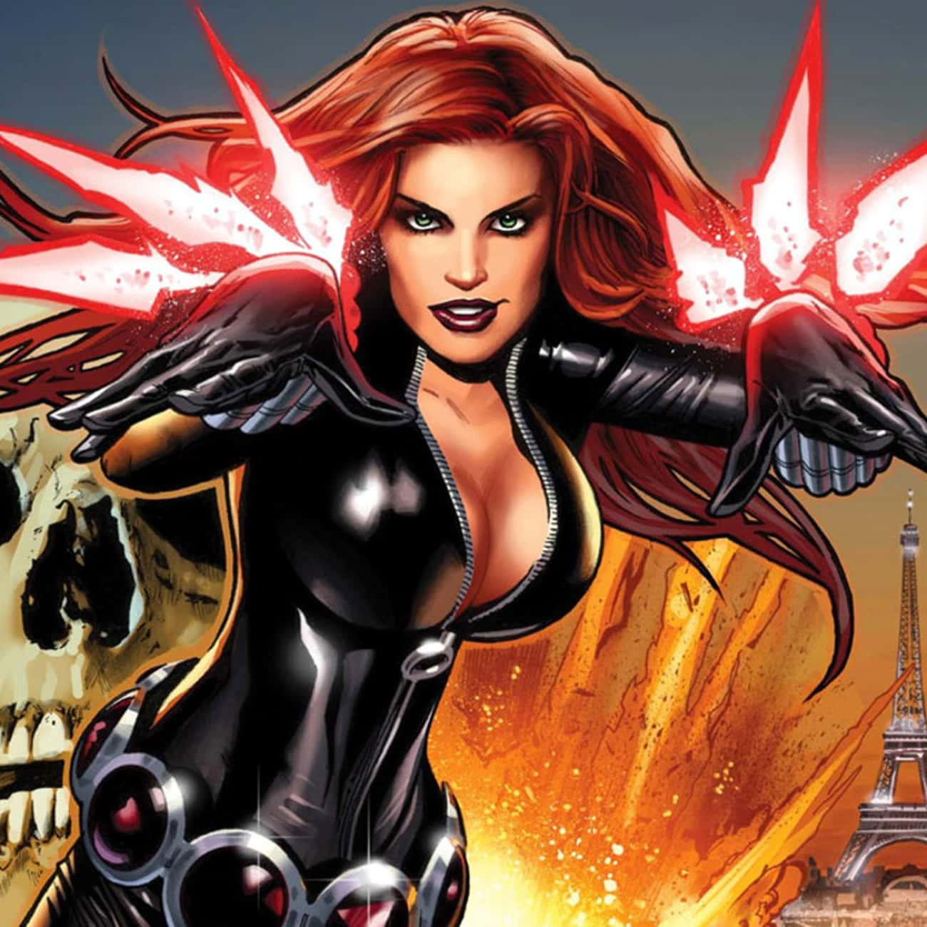 Black Widow is listed (or ranked) 4 on the list Comic Book Characters Who Deserve Their Own Video Games