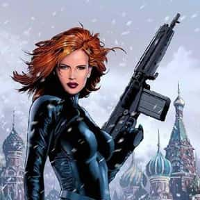 Black Widow is listed (or ranked) 3 on the list The Most Attractive Cartoon Characters Of All Time