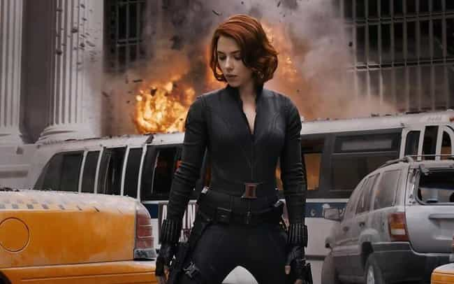 Black Widow is listed (or ranked) 4 on the list What Your Favorite MCU Character Says About You