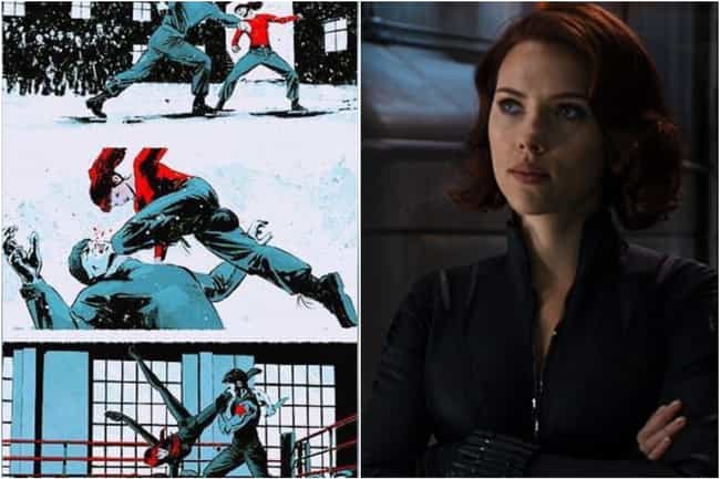 Black Widow is listed (or ranked) 7 on the list Marvel Characters Whose Comic Book Origin Stories Are Way More Upsetting Than The Movies Portrayed