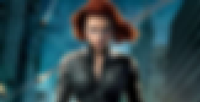Black Widow is listed (or ranked) 8 on the list The Best and Strongest Female Characters