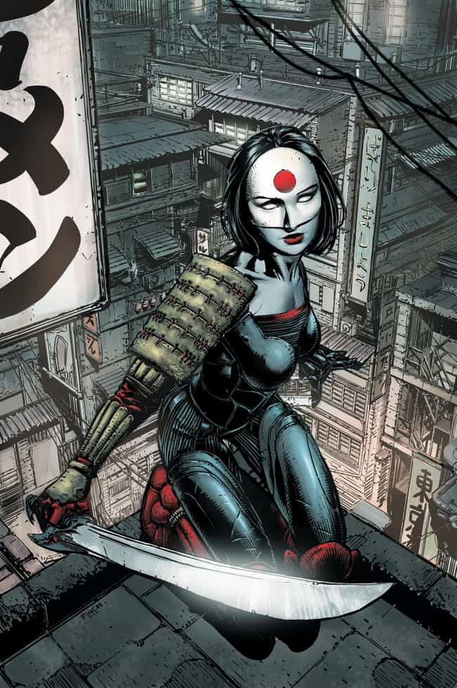 Katana is listed (or ranked) 3 on the list The Best Birds of Prey Members