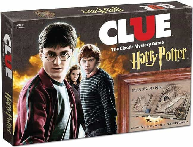 Harry Potter is listed (or ranked) 3 on the list The Best Editions of Clue