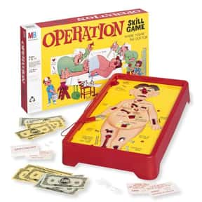 Operation is listed (or ranked) 16 on the list The Best Family Board Games