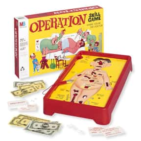Operation is listed (or ranked) 14 on the list The Best Board Games For Kids
