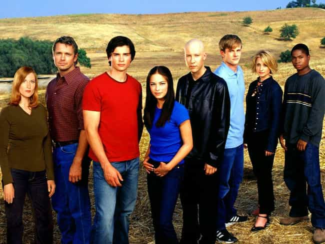 Smallville is listed (or ranked) 8 on the list American TV Shows That Would Make Amazing Anime Series