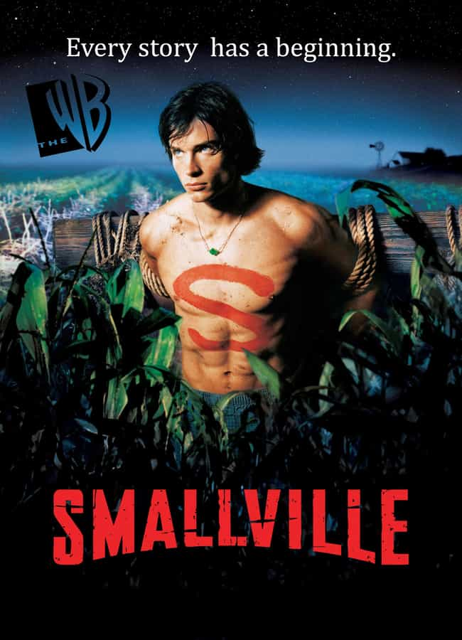 Smallville is listed (or ranked) 4 on the list The Best Supernatural Teen Series