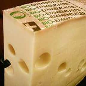 Emmentaler is listed (or ranked) 23 on the list The Very Best Cheese