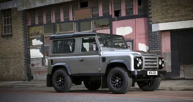 Land Rover Defender is listed (or ranked) 7 on the list Full List of Land Rover Models