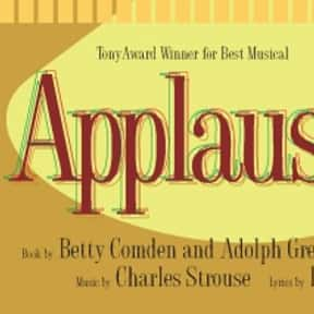 Applause is listed (or ranked) 23 on the list The Best Broadway Musicals of the '70s