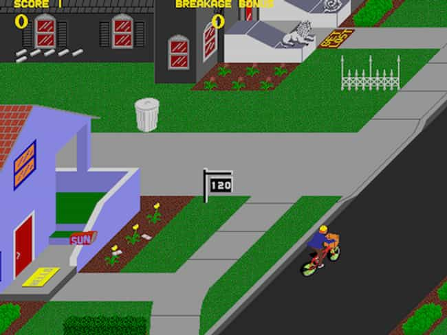 Paperboy is listed (or ranked) 4 on the list 15 Classic Nintendo Games You Forgot You Loved