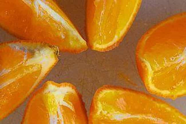 Orange is listed (or ranked) 1 on the list 16 Essential Oils to Use When Cleaning Wood