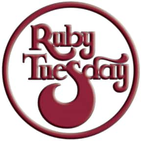 Ruby Tuesday is listed (or ranked) 20 on the list The Best High-End Restaurant Chains
