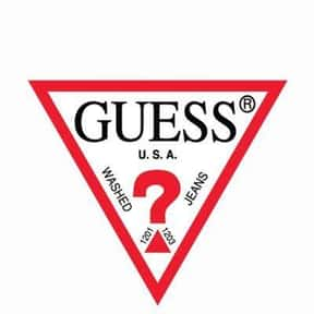 Guess is listed (or ranked) 11 on the list The Best American Clothing Brands