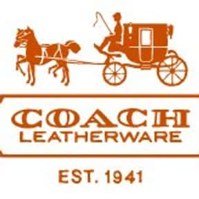 Coach, Inc. is listed (or ranked) 20 on the list The Best Eyeglasses Brands