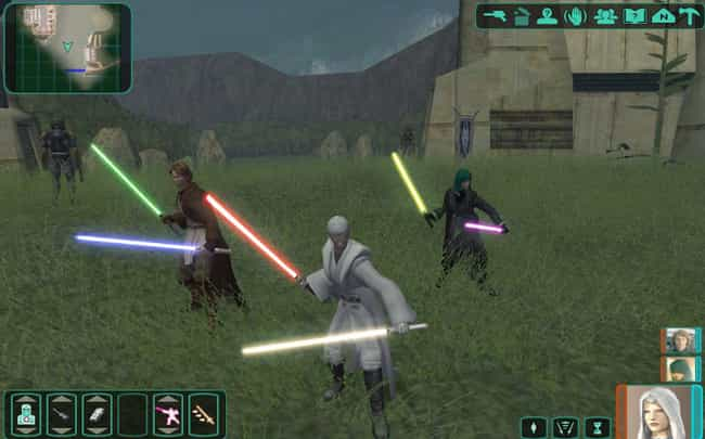 Star Wars: Knights of th... is listed (or ranked) 3 on the list These Fans Made Amazing Games That Completely Outdid The Original Developers