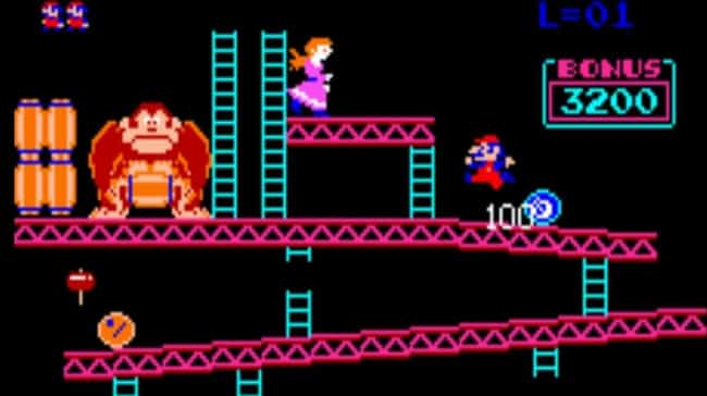 Donkey Kong is listed (or ranked) 3 on the list 14 Hidden Backstories You Never Knew About Your Favorite Games