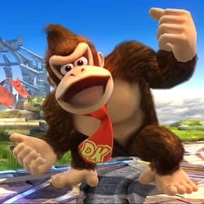 Donkey Kong is listed (or ranked) 24 on the list The Best Super Smash Brothers 4 Characters (Wii U & 3DS), Ranked