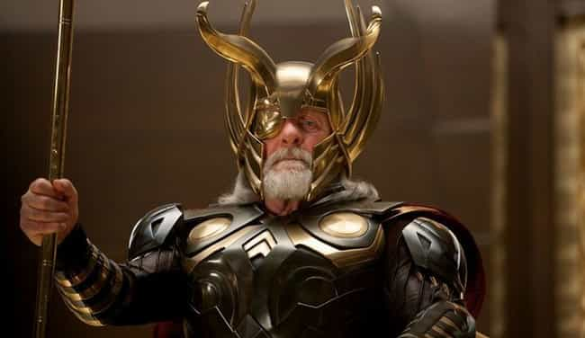 Odin is listed (or ranked) 3 on the list The Wisest Characters In The MCU