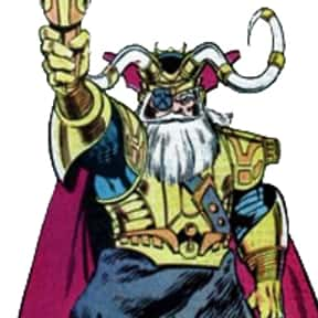 Odin is listed (or ranked) 2 on the list Characters Who Are Most Worthy Of Lifting Mjolnir