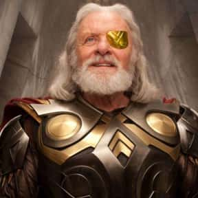 Odin is listed (or ranked) 8 on the list The Best Characters In The Thor Movies