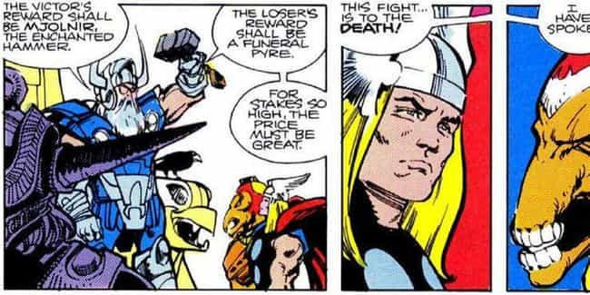 Odin is listed (or ranked) 2 on the list Everyone Who Has Wielded Mjolnir In Marvel Comics