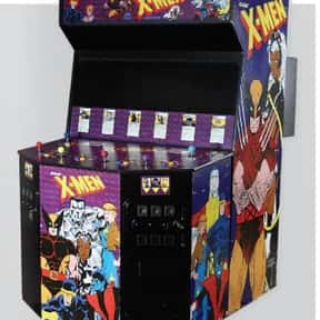 X-Men is listed (or ranked) 3 on the list The Best '90s Arcade Games