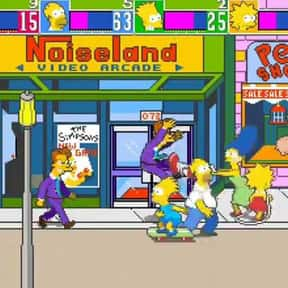 The Simpsons Arcade Game is listed (or ranked) 5 on the list The Best '90s Arcade Games