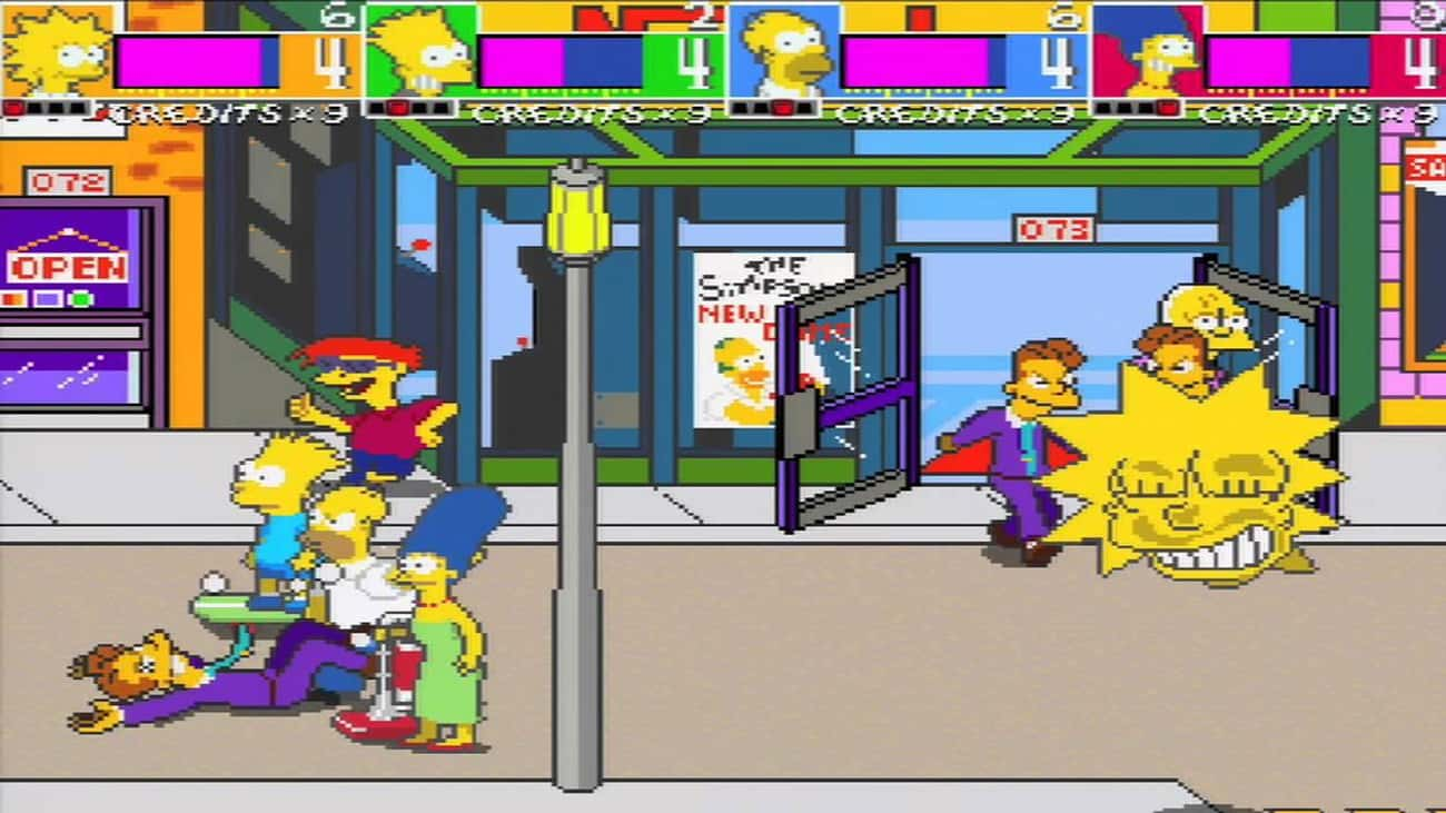 The Simpsons Arcade Game is listed (or ranked) 3 on the list The Greatest Games You Could Actually Beat at an Arcade