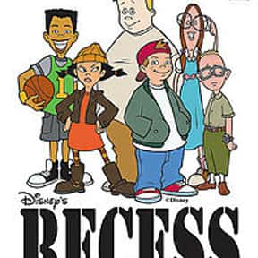 Disney's Recess is listed (or ranked) 11 on the list The Best Cartoons of the '90s