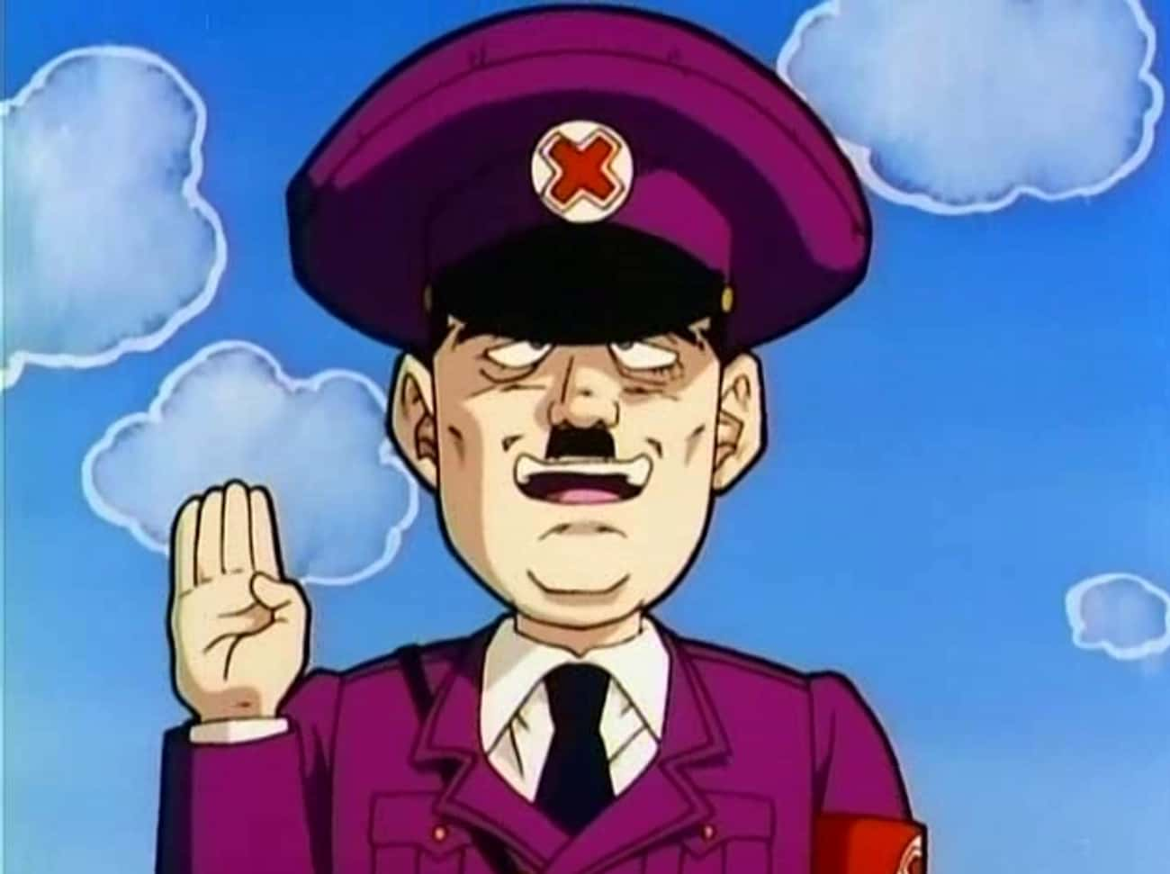 'Dragon Ball Z: Fusion Reb is listed (or ranked) 1 on the list 16 Times Hitler Showed Up In Anime