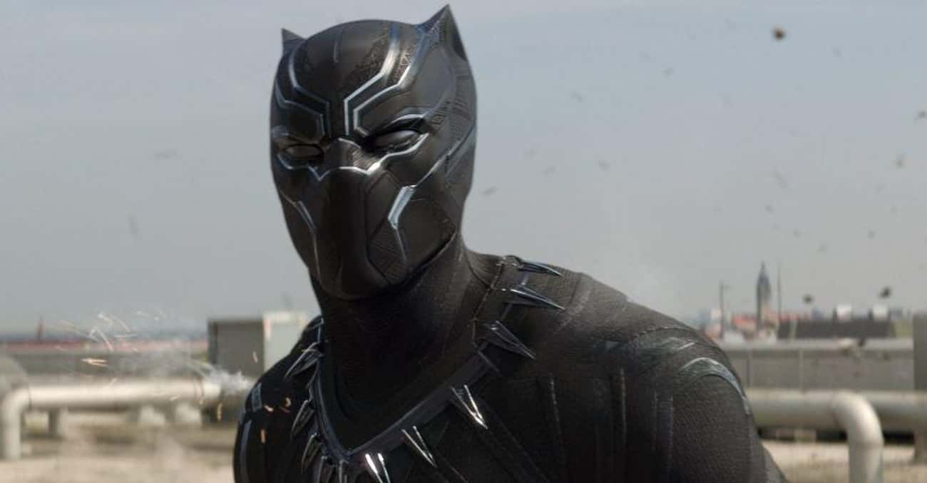 Chadwick Boseman's Black P is listed (or ranked) 2 on the list The Least Comfortable Superhero Costumes That Actors Have Had To Wear