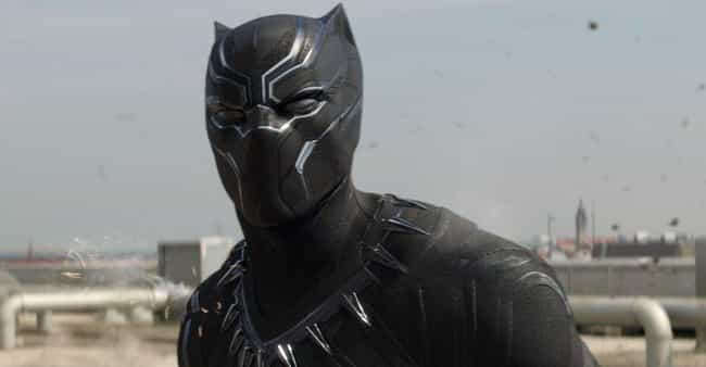 Black Panther is listed (or ranked) 3 on the list The Least Comfortable Superhero Costumes That Actors Have Had To Wear