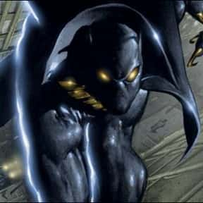 Black Panther is listed (or ranked) 10 on the list The Top Marvel Comics Superheroes