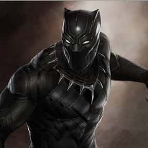 Black Panther is listed (or ranked) 20 on the list Characters Who Are Most Worthy Of Lifting Mjolnir