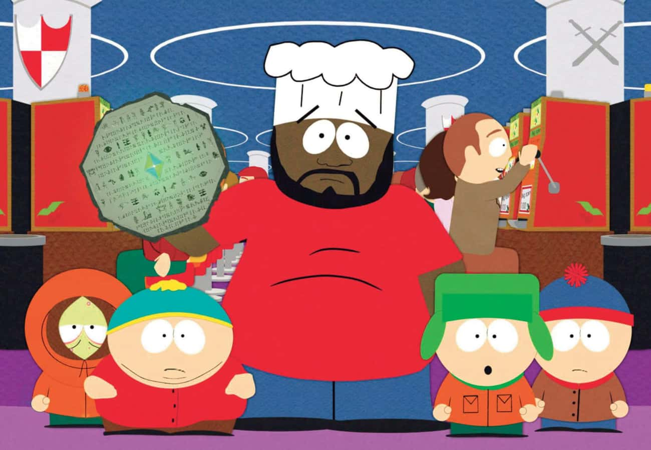 Chef From 'South Park' is listed (or ranked) 4 on the list 30+ Popular TV Characters Who Were Suddenly Written Off The Show (And Why)