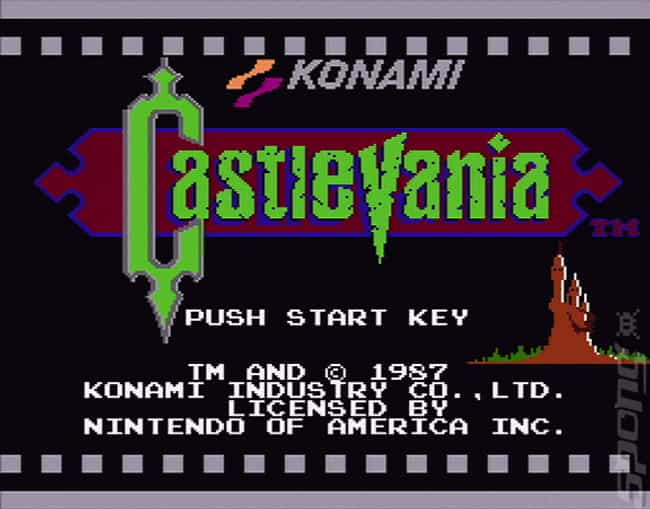 Castlevania is listed (or ranked) 4 on the list The Hardest Video Games To Complete