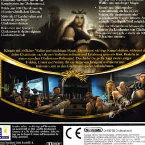 Gladius is listed (or ranked) 22 on the list The Best GameCube RPGs of All Time, Ranked by Fans
