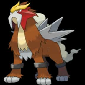 Entei is listed (or ranked) 13 on the list The Best Dog Pokemon