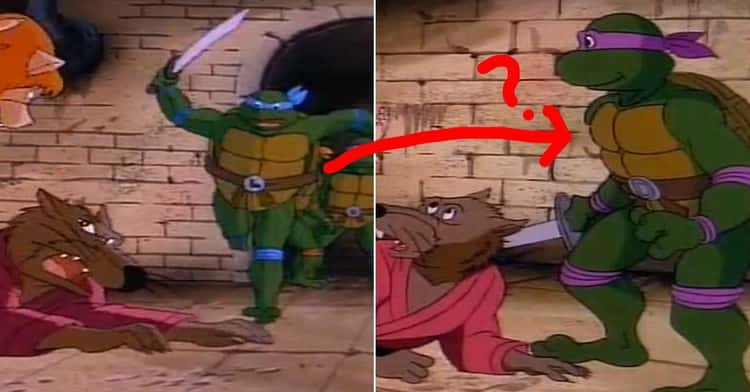 The Ninja Turtles Constantly Transform Into Each Other