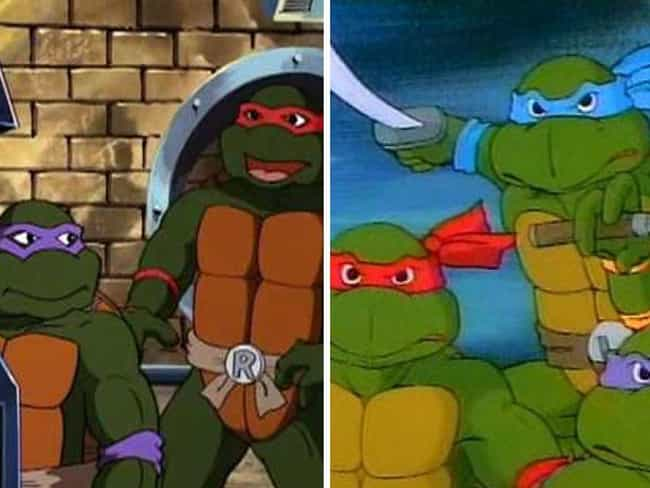 Teenage Mutant Ninja Tur... is listed (or ranked) 12 on the list How And Why The Animation In Your Favorite Cartoons Changed Over The Seasons