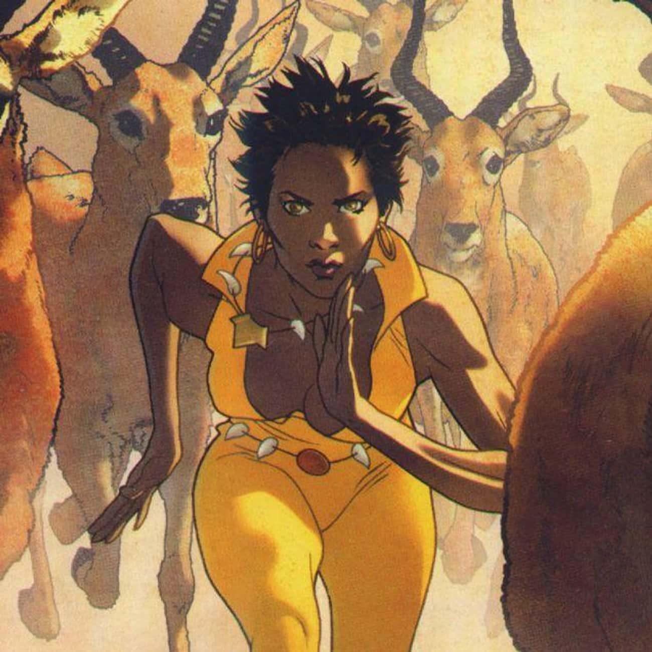 Vixen is listed (or ranked) 2 on the list Greatest Black Female Superheroes