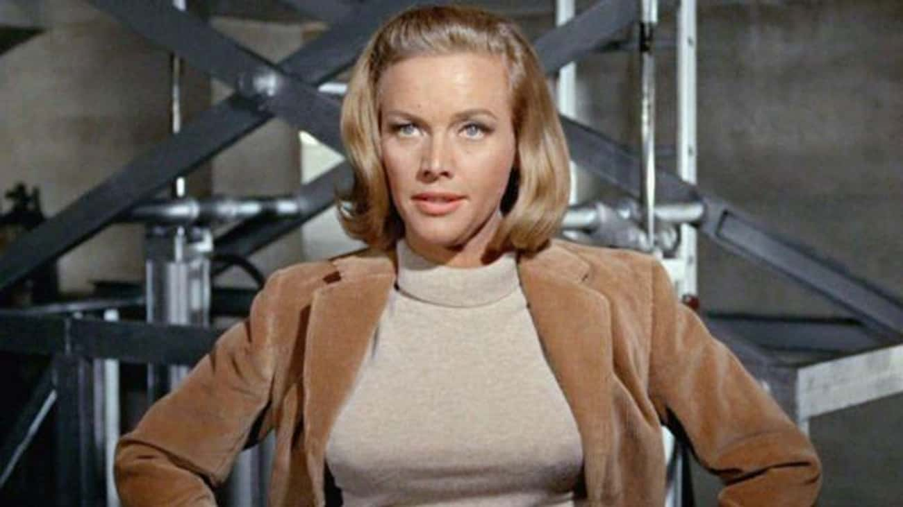 Pussy Galore, 'Goldfinger' is listed (or ranked) 3 on the list The Most On-The-Nose Character Names In Movie History