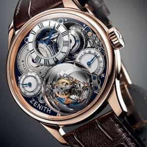 Zenith is listed (or ranked) 14 on the list The Best Watch Brands